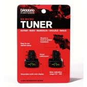 D'Addario Planet Waves NS Micro Headstock Tuner 2 Pack