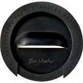 Dunlop The Suppressor Pro Sound Hole Cover 1-Hole Black DSB312
